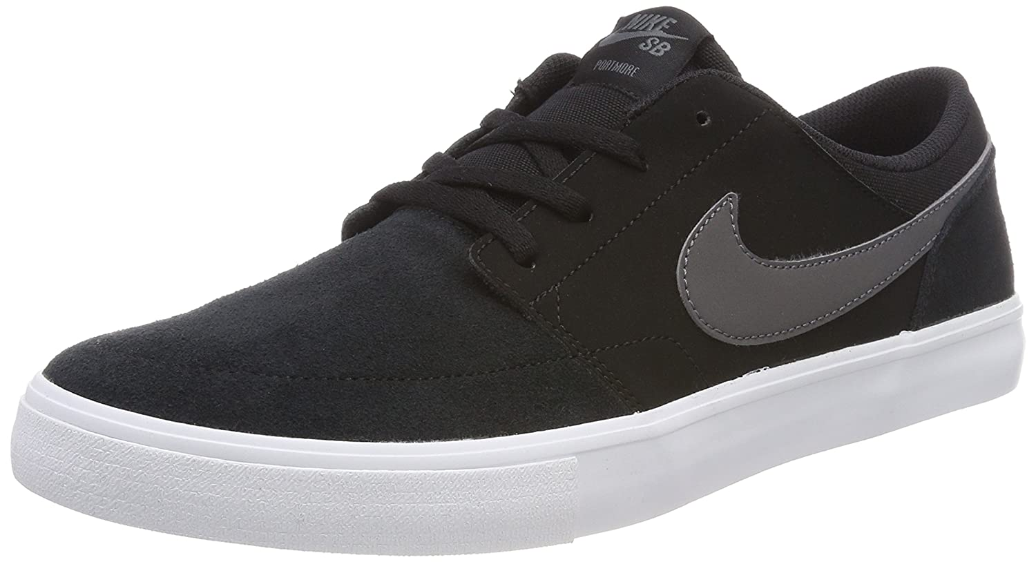 Black Nike Sb Portmore shoes