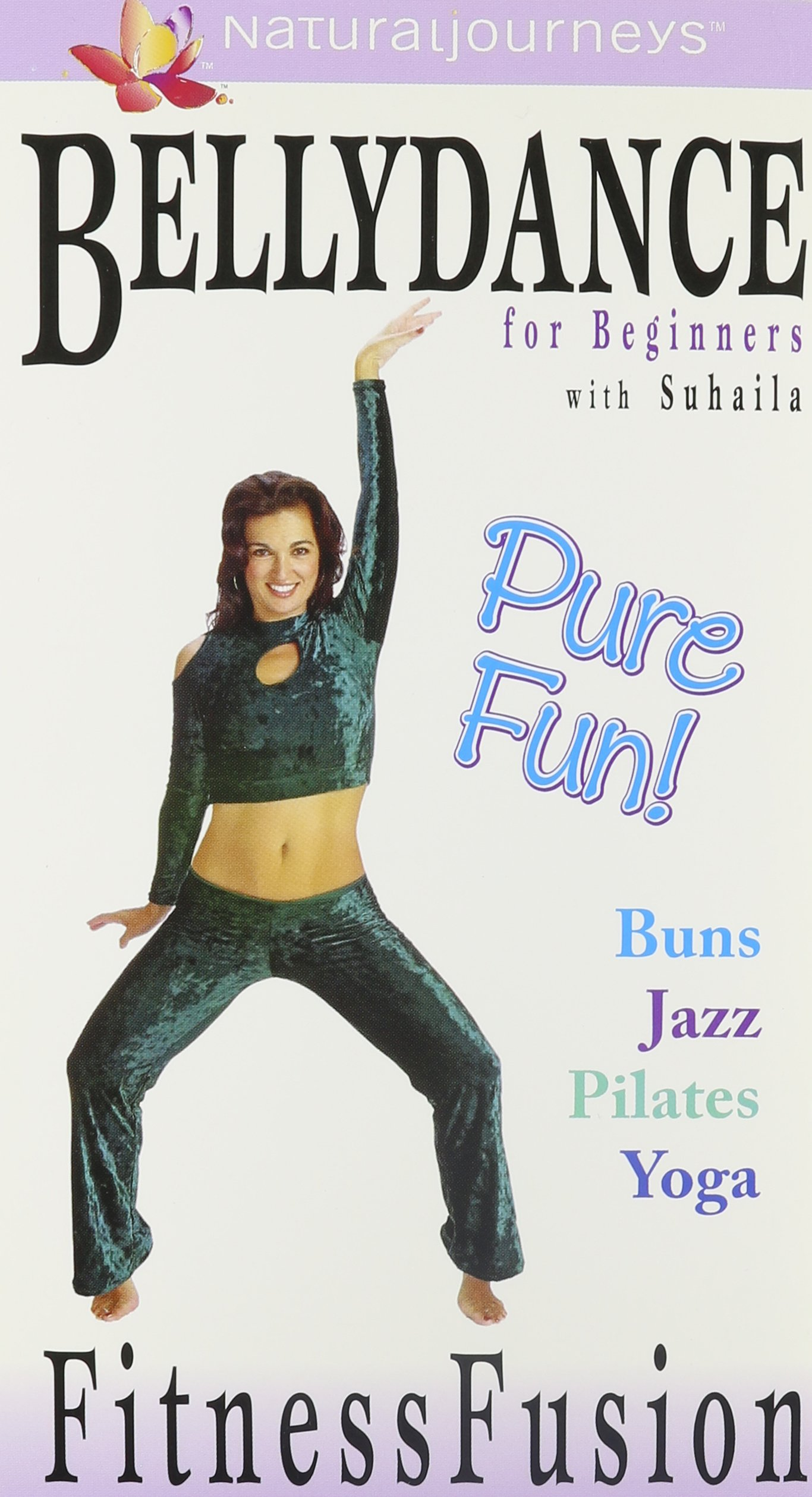 Bellydance for Beginners with Suhaila: Fitness Fusion - 4 Volume Gift Set (Buns, Jazz, Pilates, Yoga) [VHS]