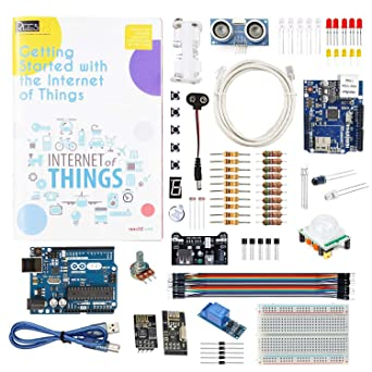 REES52 Arduino Compatible IOT Internet of Things Kit with Arduino UNO R3  and Ethernet Shield by REES52