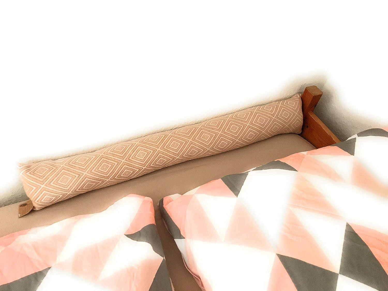 colore grigio e beige 90 cm adattabile paraspifferi per porte e finestre Ventilkappenk/önig