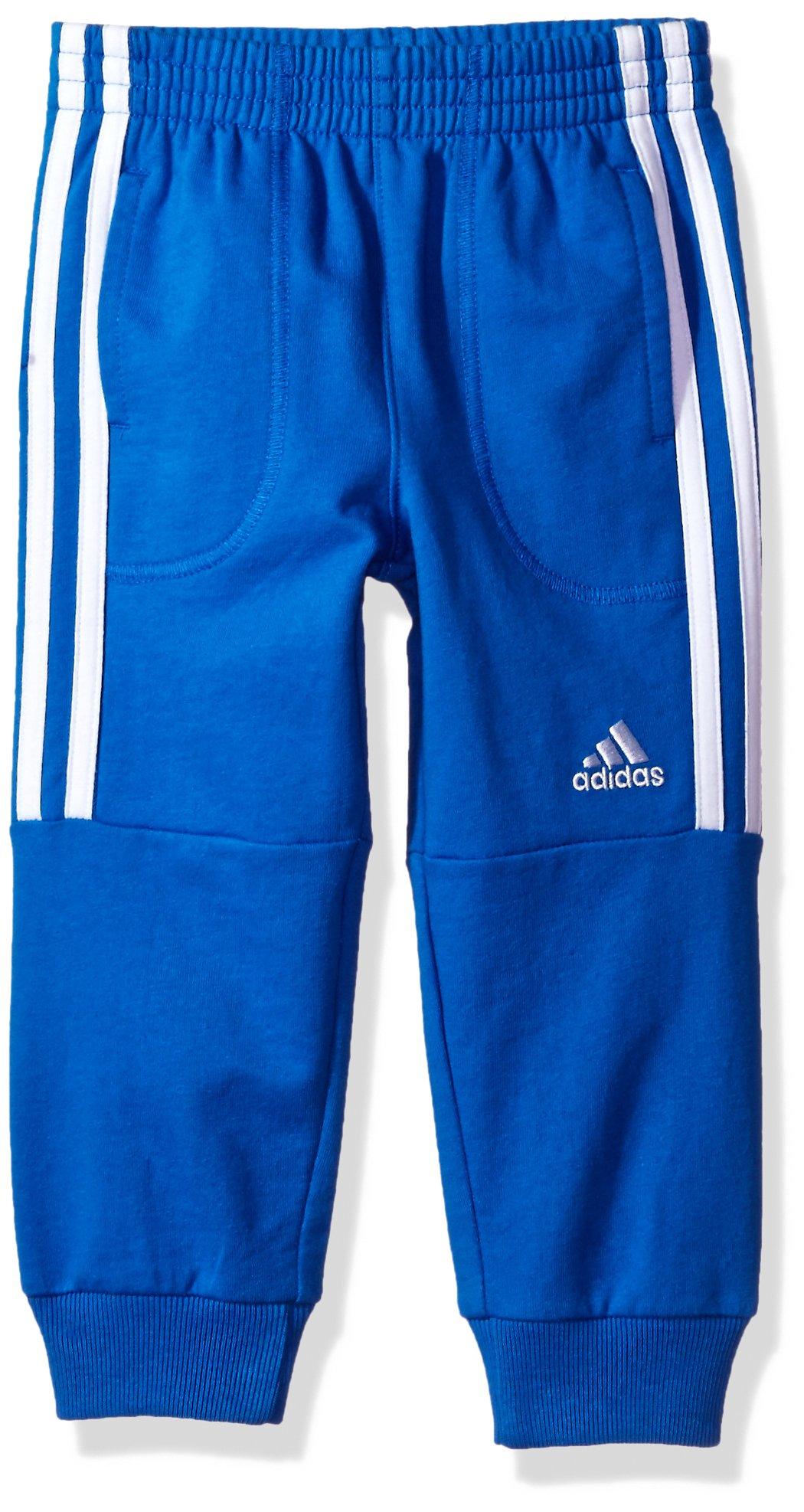 adidas Boys' Little Oldschool Jogger Pant, Blue OS, 6 by adidas