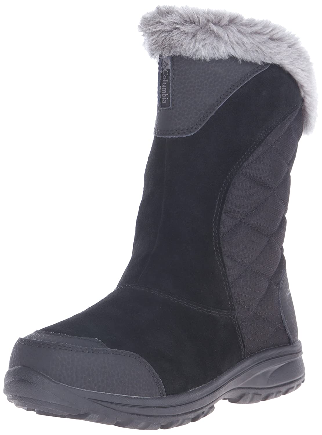 Columbia Women's Ice Maiden II Slip Winter Boot B00GW97FVA 9.5 B(M) US|Black, Shale