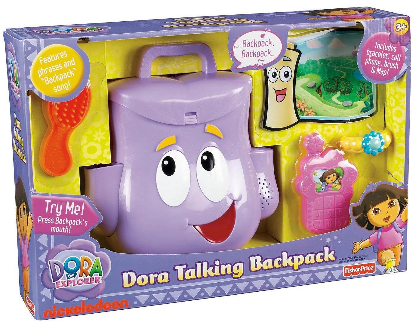 Amazon.com: Fisher-Price Dora Talking Backpack: Toys & Games on