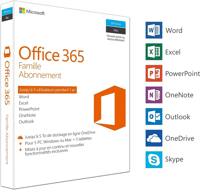 Microsoft Ms Office 365 Home 1y Subscr P2 Elektronik