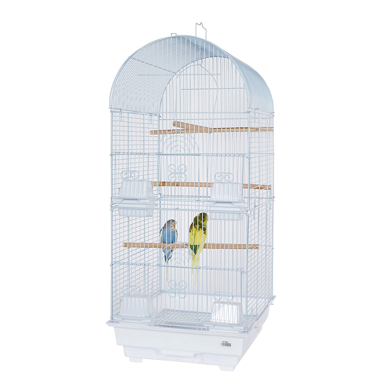 Pet Ting Daisy Bird Cage for Budgie Lovebird Cockatiel Parrots