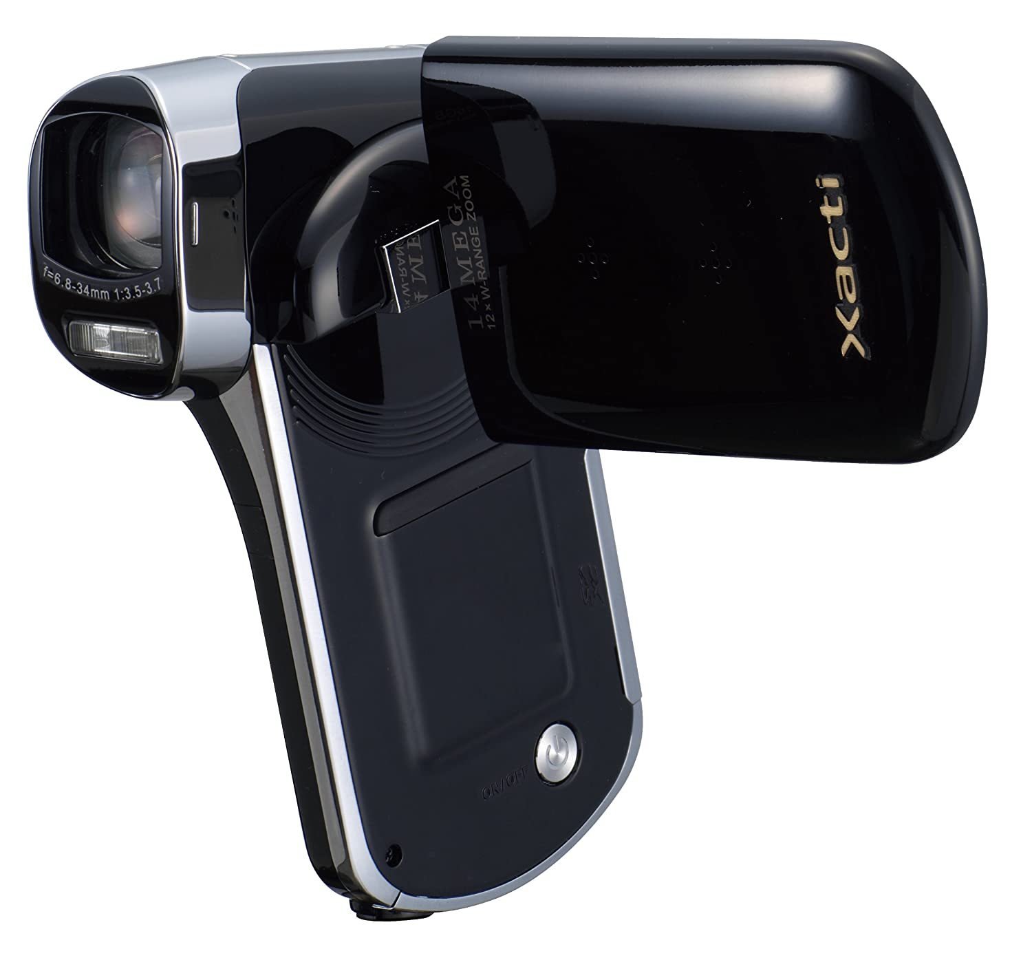 Amazon.com : Sanyo VPC-CG102 High Definition Camcorder and 14 MP Camera  w/12x Optical Zoom (Discontinued by Manufacturer) : Camera & Photo
