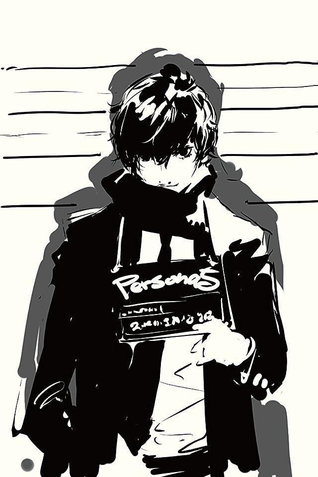 ペルソナ ペルソナ5 主人公 (『ペルソナ5 The Animation』雨宮蓮) iPhone(640×960)壁紙画像