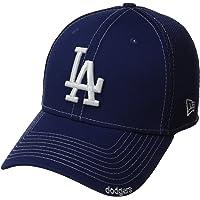 New Era Neo 39Thirty Gorra de béisbol Ajustada de los Dodgers de Los Ángeles de la MLB, Mediana/Grande, Azul Rey