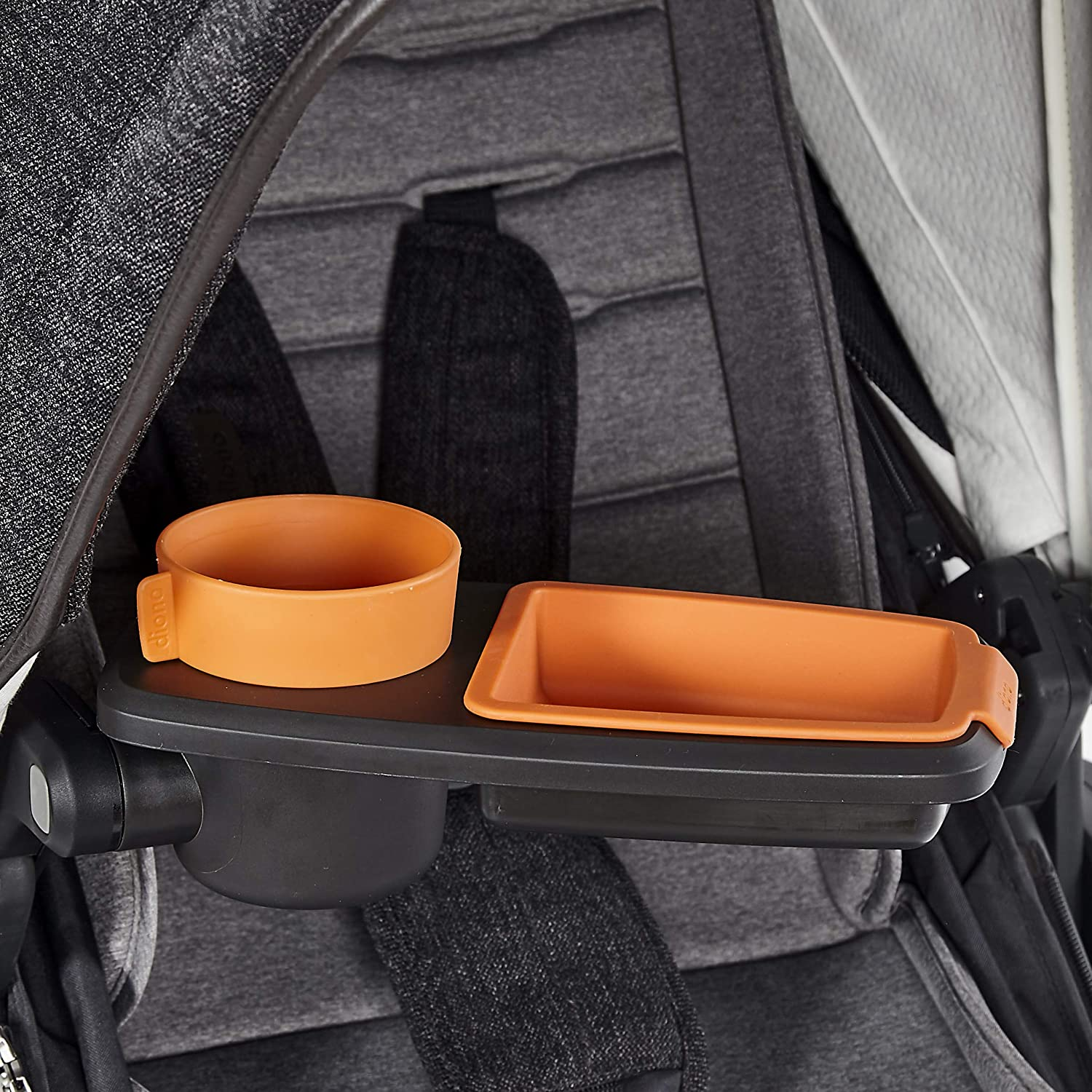 Diono Quantum Snack and Ride Tray for Strollers Grey