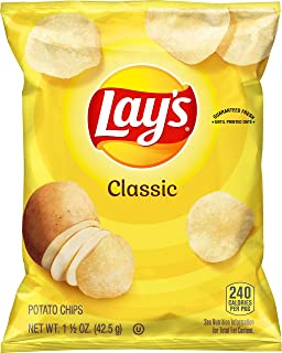 product image for Lay's Classic Potato Chips, 1.5 Ounce (Pack of 64)