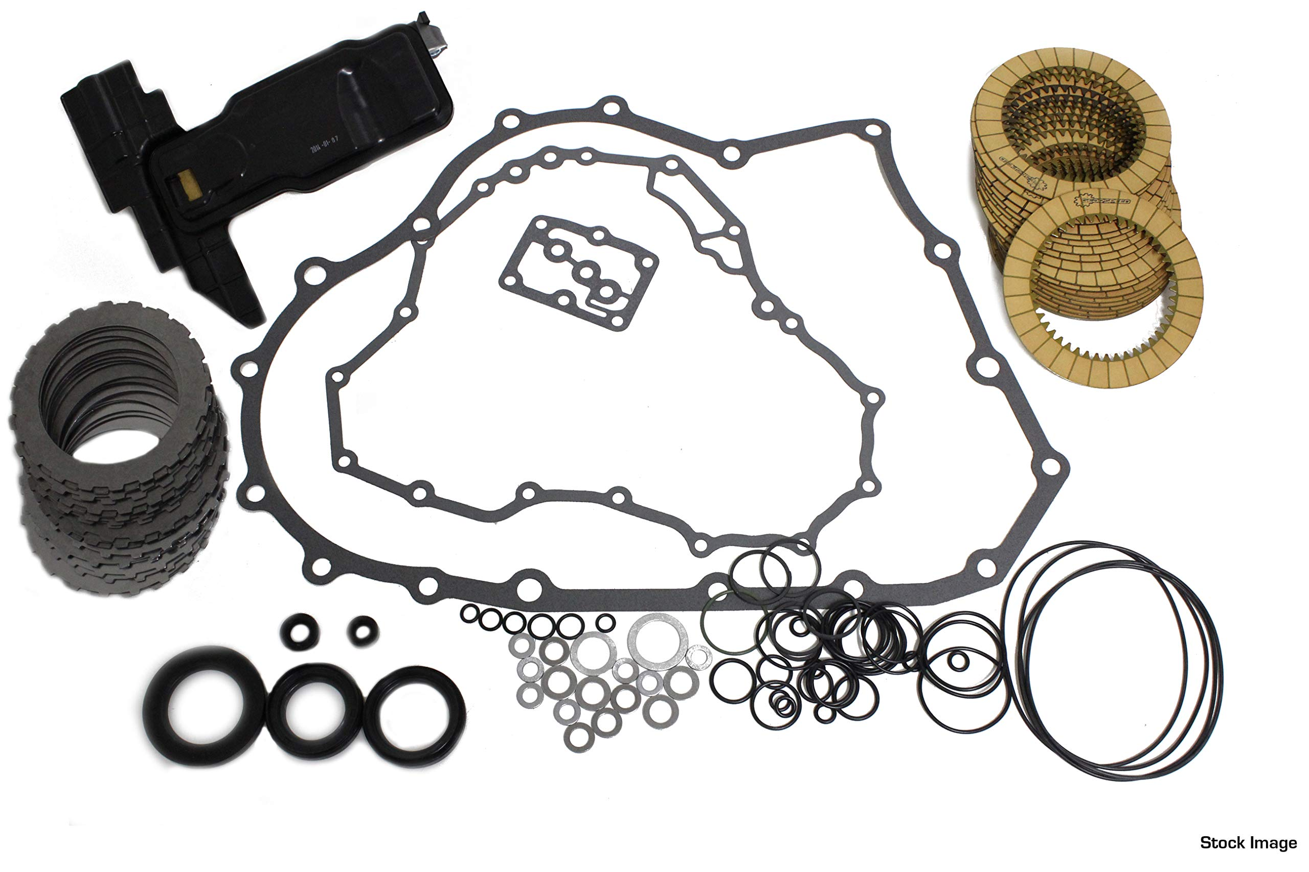 Transmission Rebuild Kit (MASTER) Compatible with 1998-2002 Honda Accord 4 Cylinder MAXA/BAXA