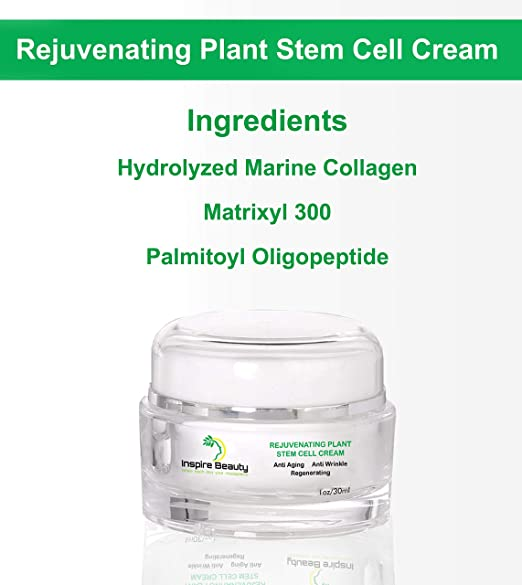 Crema rejuvenecedora de células madre - 30ml - crema anti-envejecimiento extrema, crema anti arrugas, la mejor crema para los ojos, rejuvenecer su piel ...