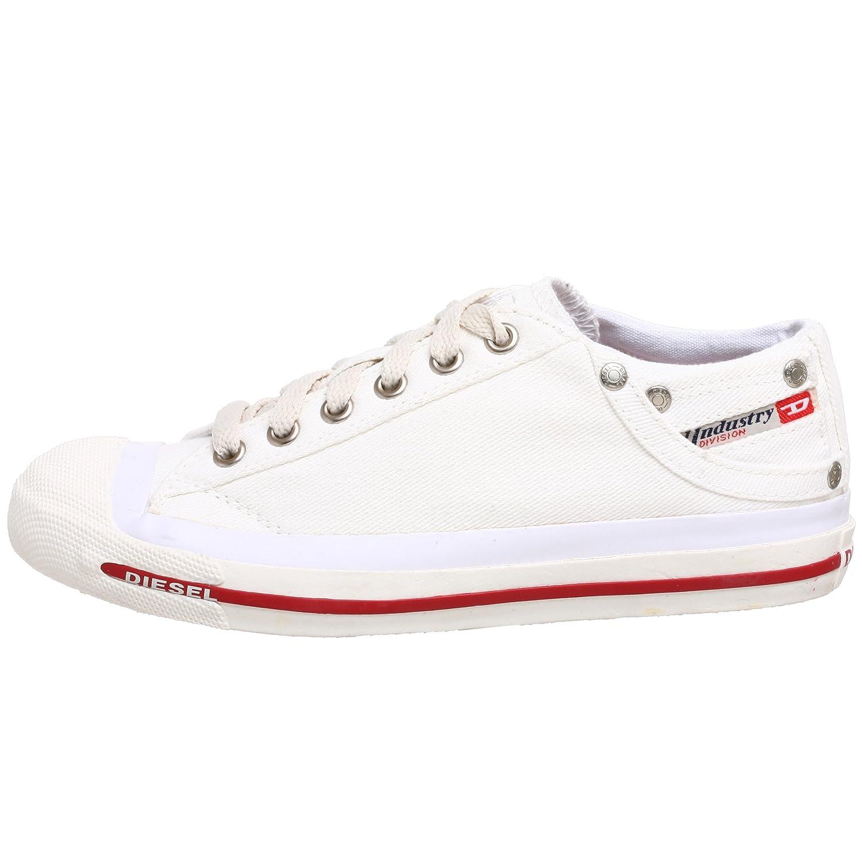 a669d3ccd97e4 DIESEL Exposure Low, Sneakers Basses Femme, Blanc (White T1002), 40.5 EU   Amazon.fr  Chaussures et Sacs