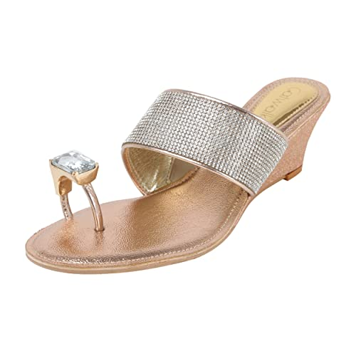4db804bc54a7b Catwalk Silver Slip-on Sandals for Women s  Buy Online at Low Prices ...