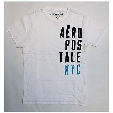 a7ed0a5a5 Aeropostale Men's Short Sleeve Aero-87 Marled Logo Graphic T Shirt |  Amazon.com