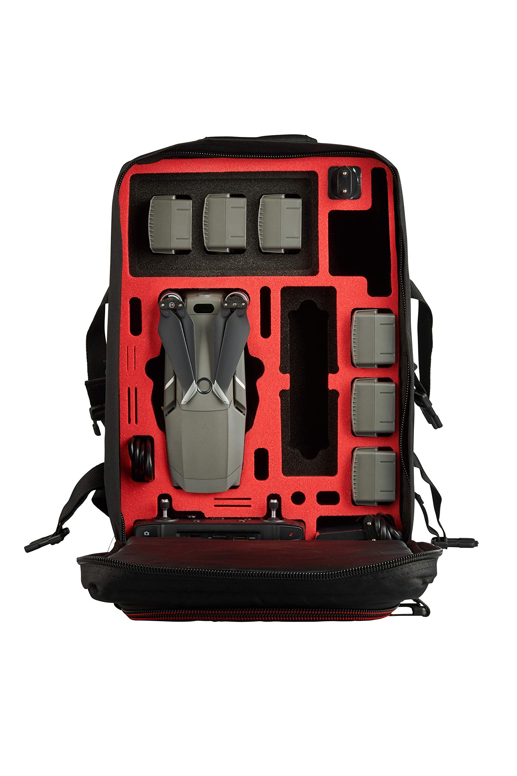 MC-CASES Backpack for DJI Mavic 2 Pro or Zoom/Enterprise - Standard & Smart Controller Extremely Comfortable - Lots of Space