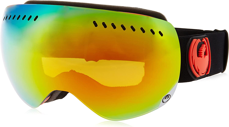 NEW Dragon X2S Goggles-Gigi Signature-Dark Smoke+Yellow Red-SAME DAY SHIPPING!