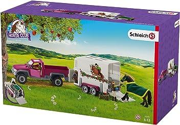 Schleich 42346 - Pick-up avec Remorque Pour Cheval -
