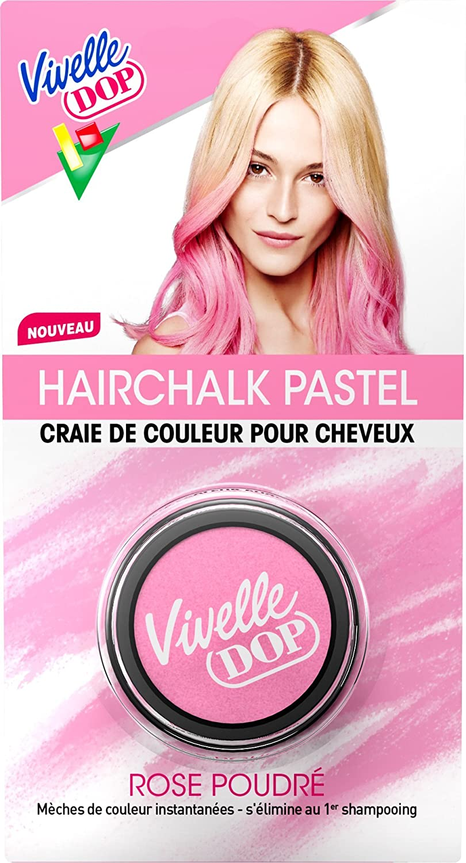 vivelle dop hairchalk pastel craie de couleur pour cheveux coloration phmre rose poudr 38 g amazonfr beaut et parfum - Produit Coloration Cheveux