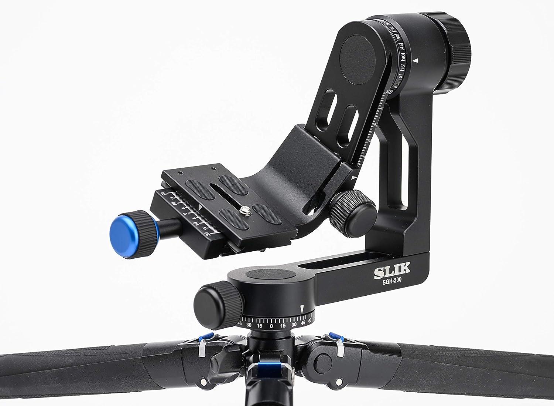 Slik Sgh 300 Compact Gimbal Stativkopf Mit Arca Swiss Kamera