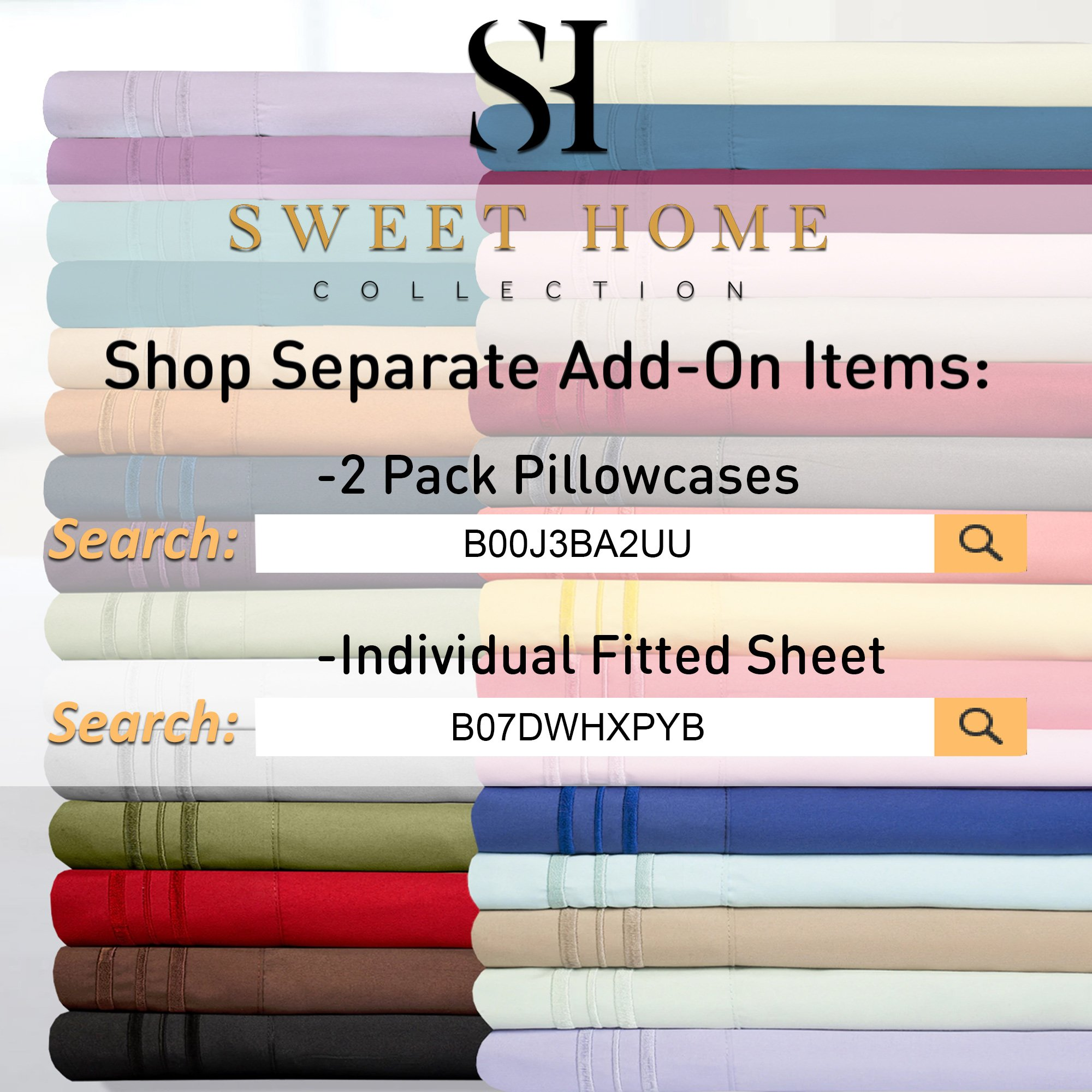 1500 Supreme Collection Extra Soft King Sheets Set, Light Blue - Luxury Bed Sheets Set With Deep Pocket Wrinkle Free Hypoallergenic Bedding, Over 40 Colors, King Size, Light Blue by Sweet Home Collection (Image #8)