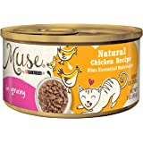 Muse by Purina Natural Recipe in Gravy Adult Wet Cat Food – (24) 3 oz. Cans