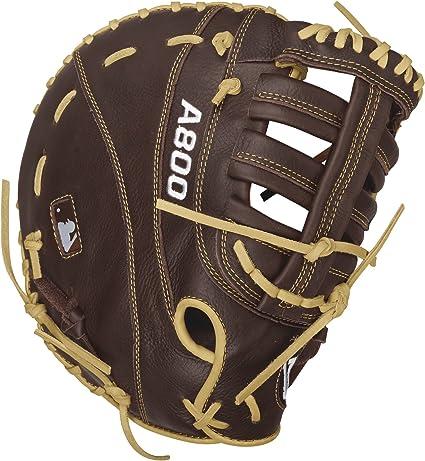 12.5 Wilson Showtime Baseball Gloves Brown//Blonde Left Hand Throw