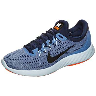 best loved f56aa 1cdd6 Nike Men s Lunar Skyelux Moon Black-Binary Blue Running Shoes-6 UK