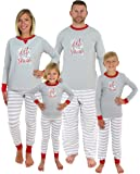 Sleepyheads Holiday Family Matching Winter Snowflake Pajama PJ Sets