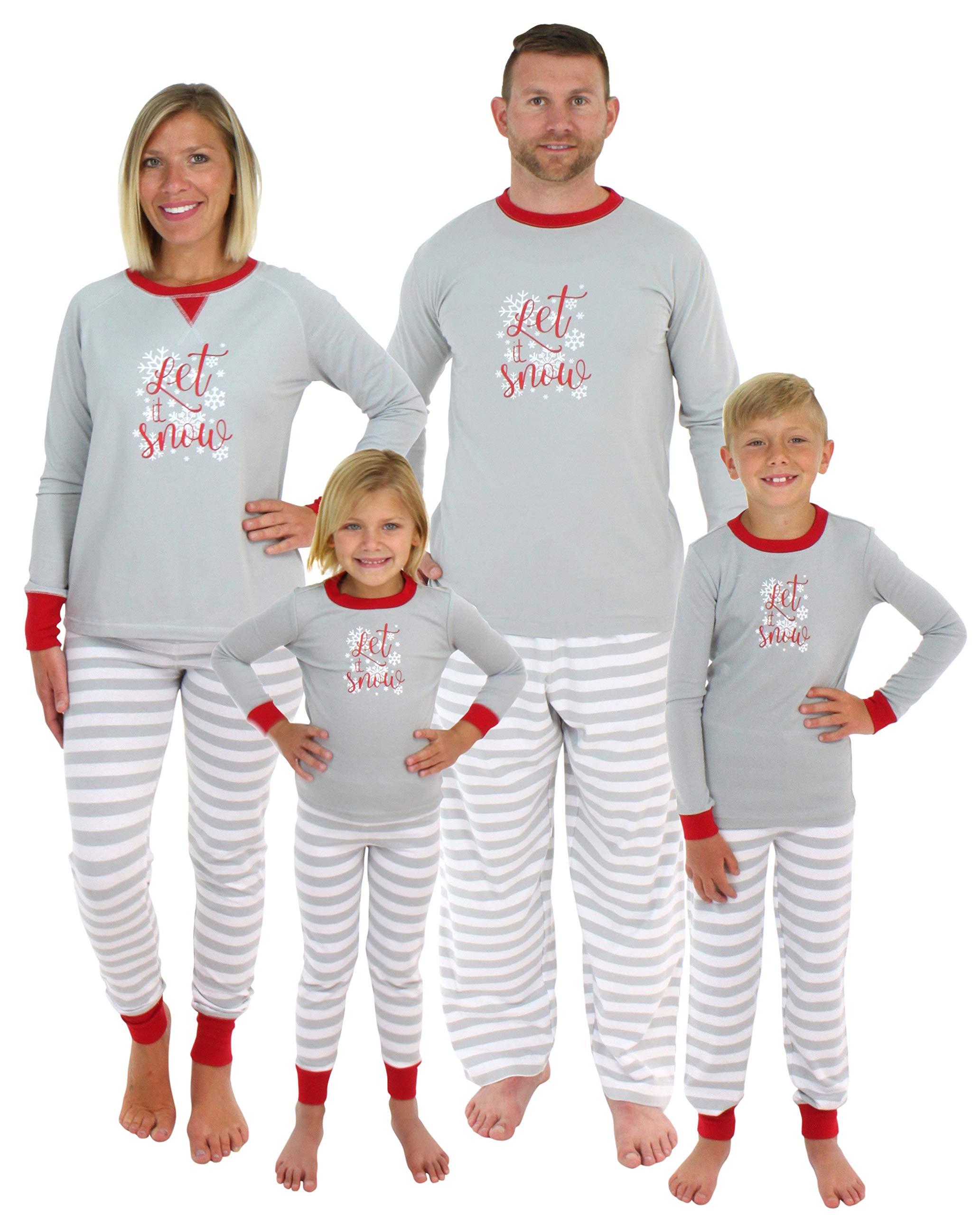 Sleepyheads Holiday Family Matching Winter Snowflake Pajama PJ Sets ... 6843f8ca3