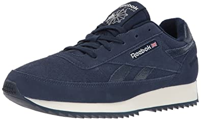 a951728a4be6 Reebok Men s CL Renaissance Ripple Sneaker Collegiate Navy Chalk