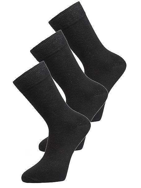schwarz im 10er Pack Damen Berufs-Socken 10 Paar schwarze Damensöckchen