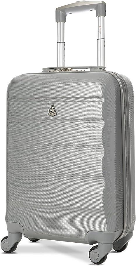 Ryanair Easyjet dur Jet2 cabine approuvé Spinner bagages à main Valise Sac étui.