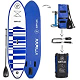 "Supflex 10' Inflatable Stand Up Paddleboard (6"" Thick) 