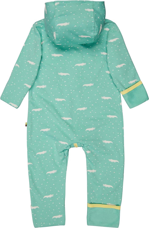 loud proud Baby-M/ädchen Overall Allover Print Organic Cotton Strampler