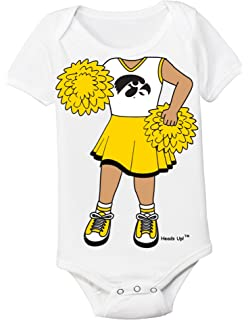 Future Tailgater Iowa Hawkeyes Eyelet Lace Baby Diaper Cover