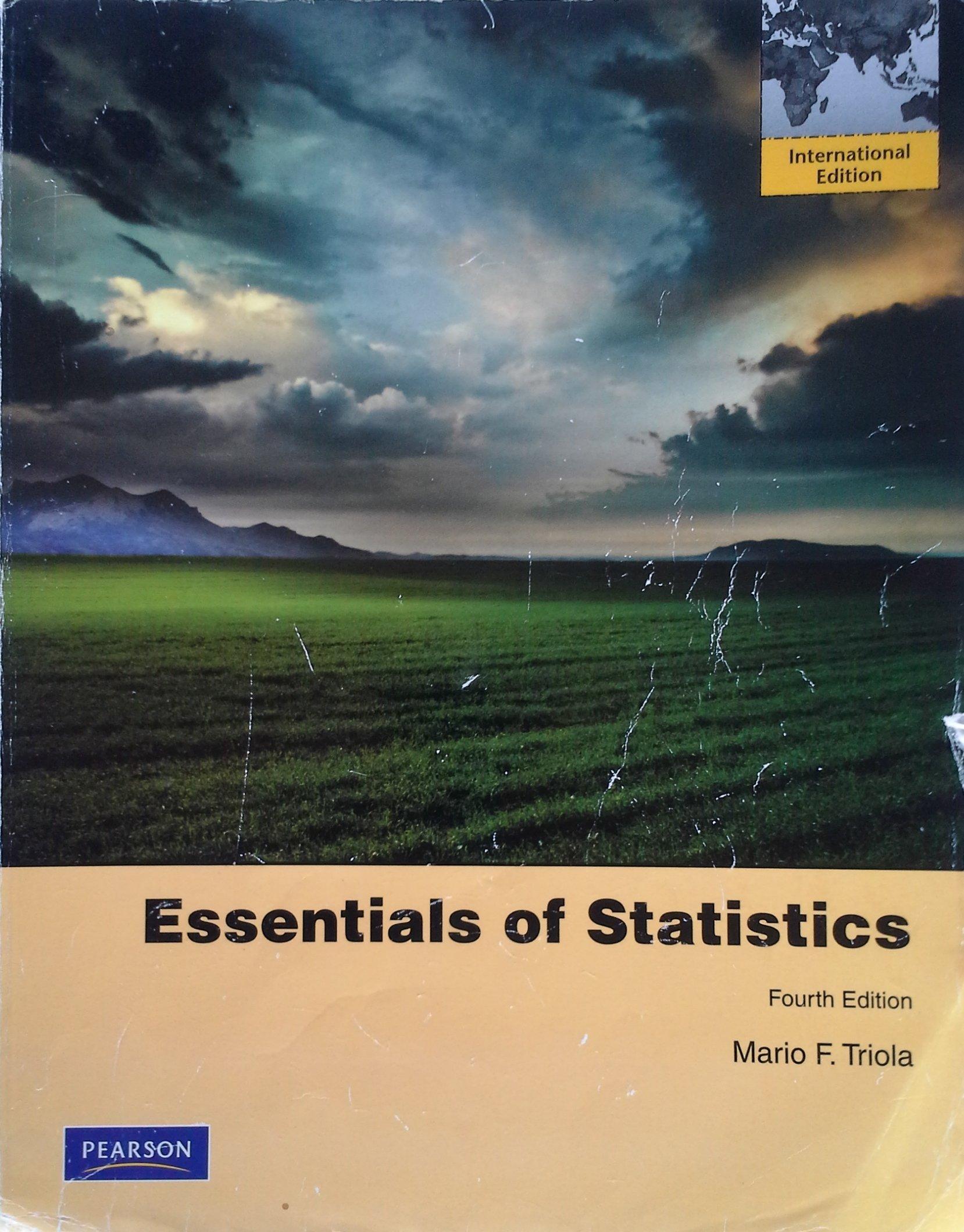 Essentials of statistics 4th edition | ebay.