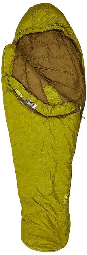 Marmot Hydrogen Saco de Dormir Mummy, Ultraligero, de Verano, para Acampar y Trekking, Hombres, Amarilla (Dark Citron/Olive), Largo-198 cm: Amazon.es: ...