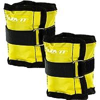 MOVIT® Twin Set de pesas para muñeca / tobillo, peso del brazo, pesas de 0.5kg a 4.0kg, Ejecución de pesas en 7 colores / pesas diferentes