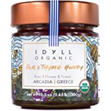 Idyll Organic Fir & Thyme Honey from Greece, 10.5oz