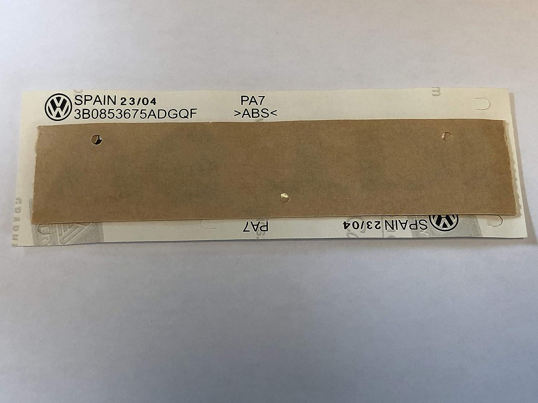 V6 TDI Logo adhesivo 3D emblema rojo autoadhesivo resistente a la intemperie dise/ño original