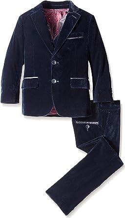 Isaac Mizrahi Little Boys 3pc Velvet Suit Isaac Mizrahi Boys 2-7 ST2031Y