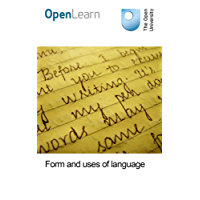 Form and uses of language
