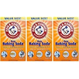 Arm & Hammer Baking Soda-4LB (01170) Pack of 3