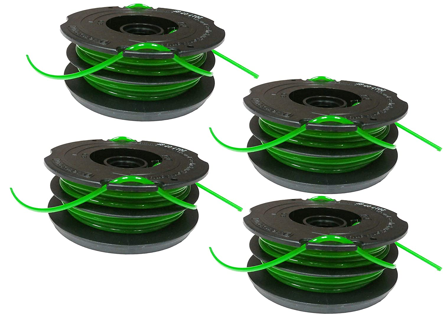 Black & Decker DF-080 .080-inch dual spool line GH1000 GH1100 GH2000 (4 Pack)