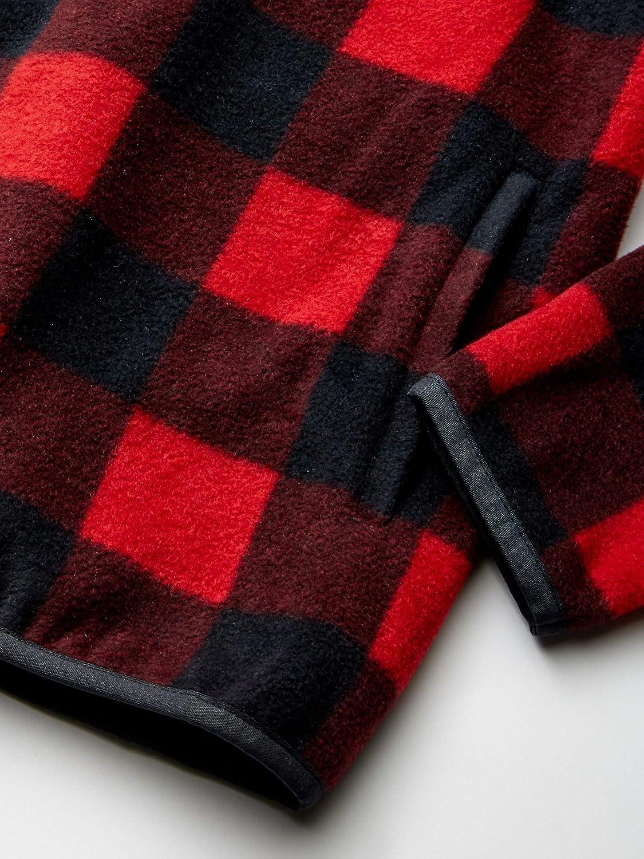 Essentials Boys Quarter-Zip Polar Fleece Jacket Brand
