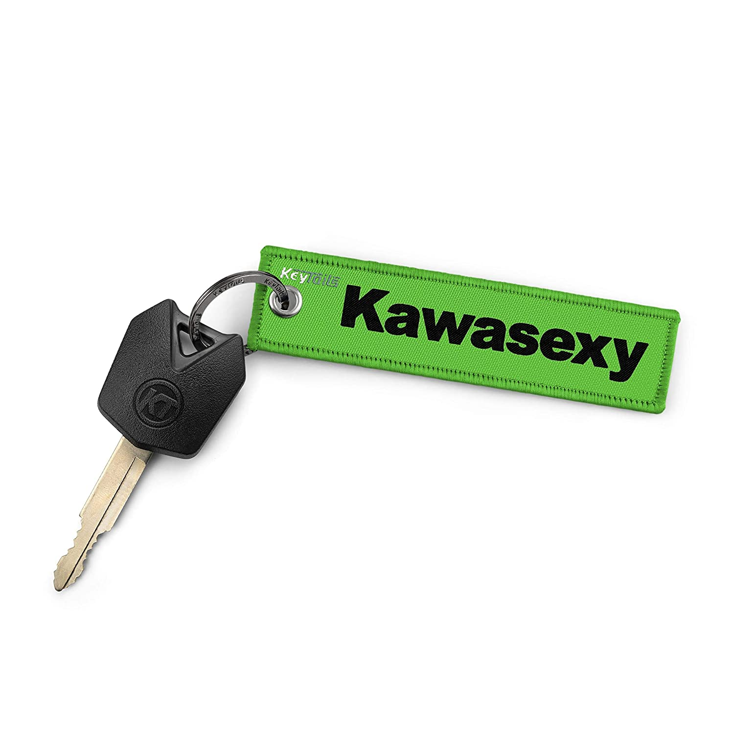 KEYTAILS Keychains, Premium Quality Key Tag for Kawasaki, Motorcycle, ATV, UTV [Kawasexy]