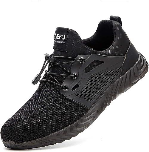 Safety Shoes Men Lightweight Steel Toe
