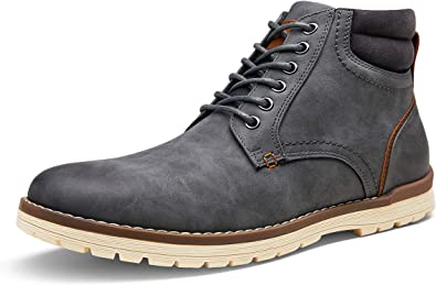 VOSTEY Mens Boots Casual Boots for Men Winter Hiking Boots