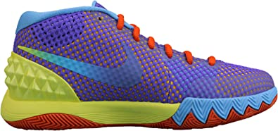 Nike Kyrie 1 Amazon.com: Nike Kyrie 1 Saturdays GS Purple Blue Yellow Red 5Y: Shoes